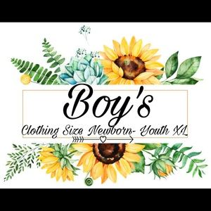 Boy's Section of Clothes under this post ⬇️⬇️⬇️